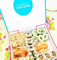 LOS ANGELES Box by SUSHI SHOP