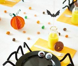 assiette araignée