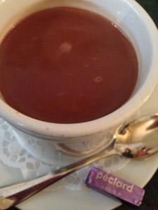 Conditorci: déguster un délicieux chocolat chaud dans un café légendaire