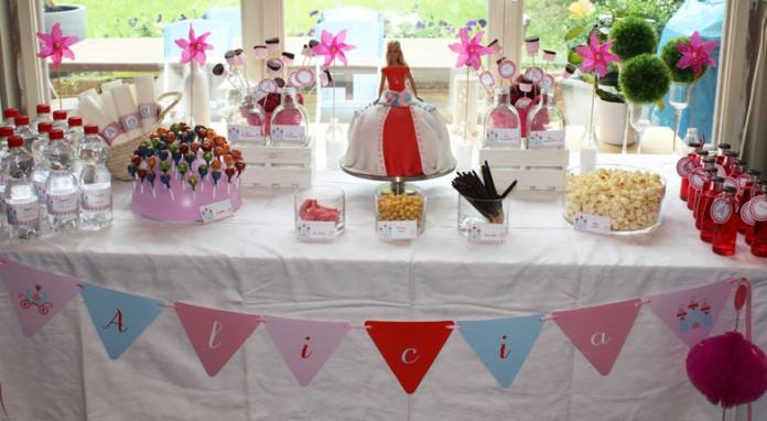 Princesse party - Une décoration d'anniversaire pour filles