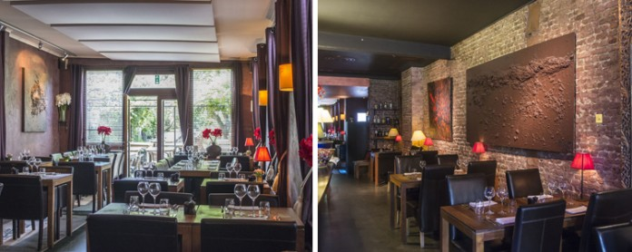 Bluechocolate restaurant bruxelles uccle for Ambiance cuisine bruxelles