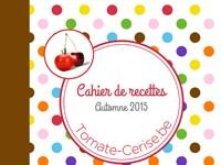 Cahier de recettes Automne 2015