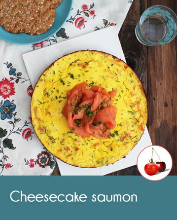 cheesecake au saumon fum. Black Bedroom Furniture Sets. Home Design Ideas