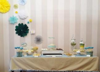 Sweet Table | Buffet des dessert | Motif à l'honneur le Chevron