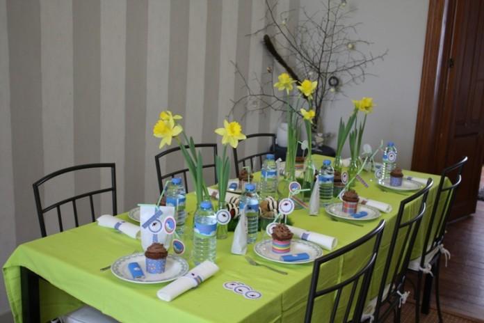 Décoration de table | Coccinelle demoiselle...