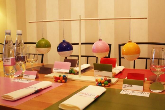 Décoration de table - Color Block !