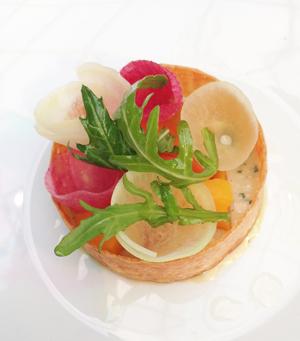 Comme chez badoit une exp rience gastronomique p tillante for Entree gastronomique originale