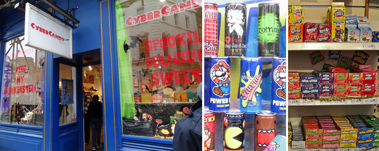 cyber candy london