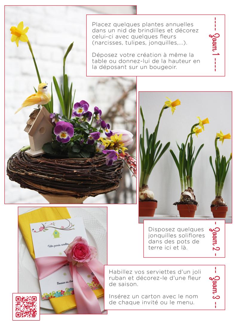 Décoration printemps