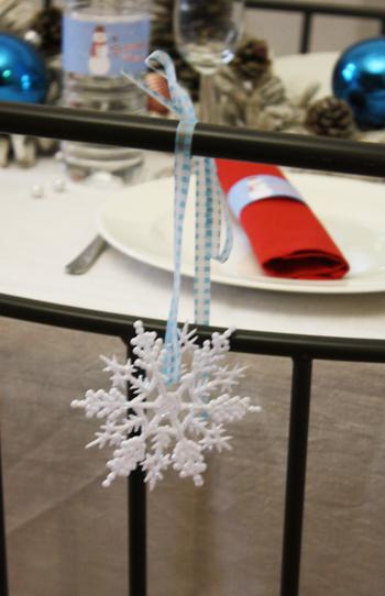 Decoration Blanc Glacial Noel