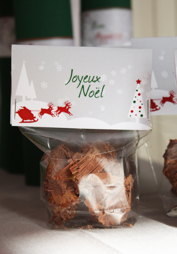 Décoration de table Noël Tradition