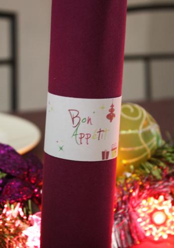 Décorationd de table - Noël Vintage