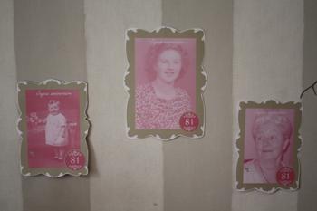 Décoration d'anniversaire - Au nom de la rose