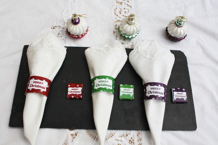 Décoration de table Noël - Etoiles