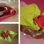 Pliage De Serviette Fleur
