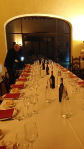 fondation Magnani Rocca au Maxim's restaurant