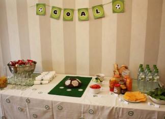 Décoration de buffet | Foot Party