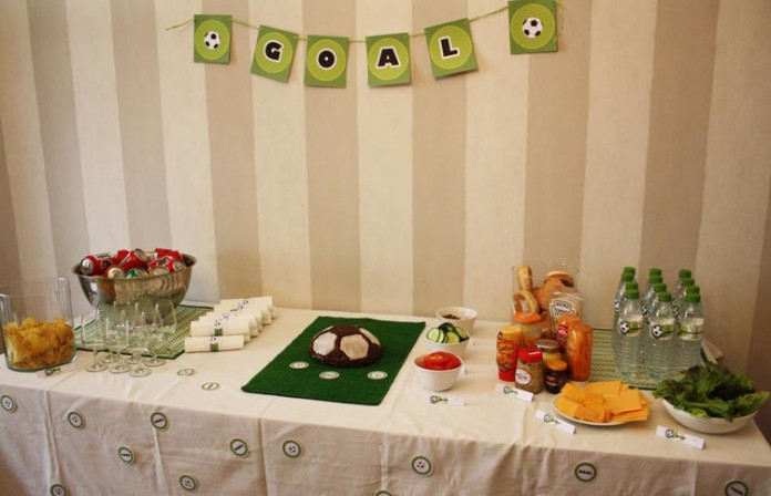 Décoration de buffet | Foot Party