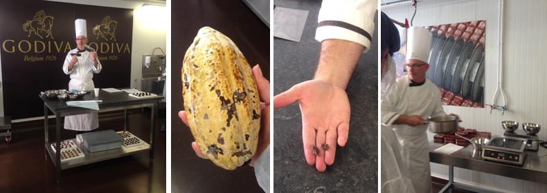A la découverte des secrets de fabrication des truffes Godiva