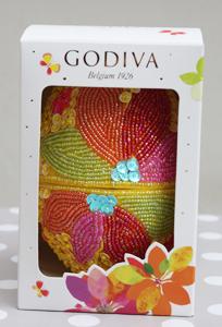 Faire son oeuf de Pâques chez Godiva