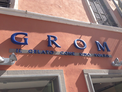 Grom Glace Parme