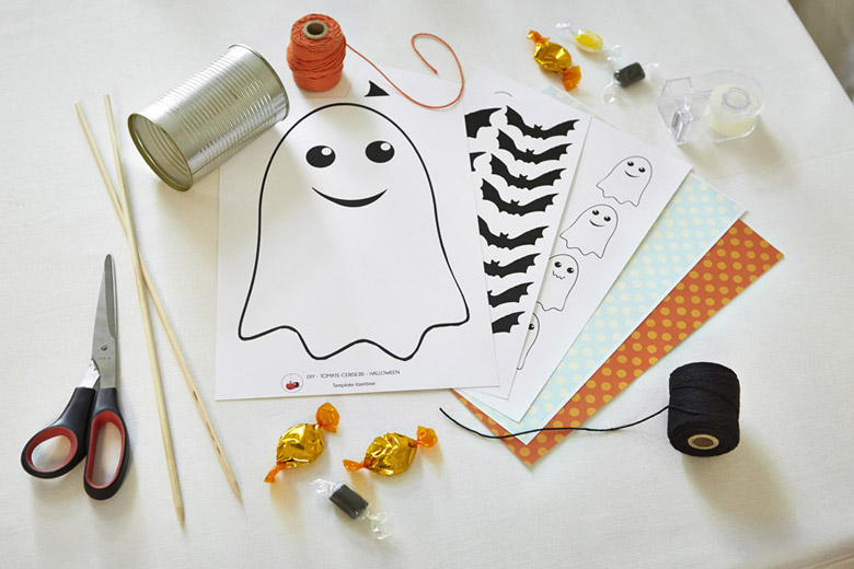 DIY - Un milieu de table fantôme