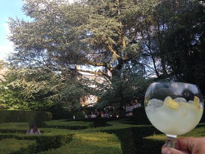 Bombay Sapphire & Fever Tree | IMAGIN 2015 Pop-up bar aux couleurs de l'été indien
