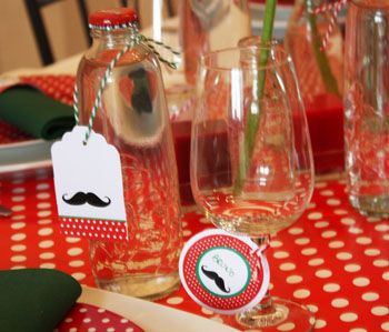 Décoration de table Italian Party