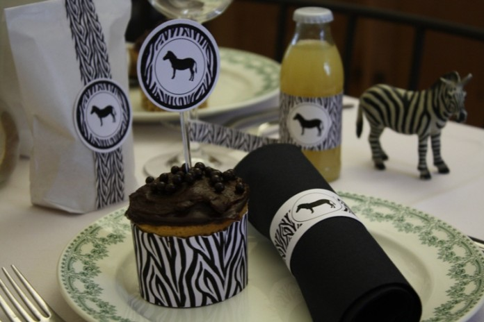 Décoration de table d'anniversaire | La parade des animaux