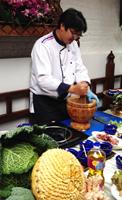 Cookshow cuisine thaï à l'Eléphant bleu avec Lesieur