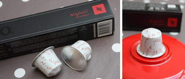 trieste et napoli 2 nouvelles capsules nespresso aux couleurs de l italie. Black Bedroom Furniture Sets. Home Design Ideas