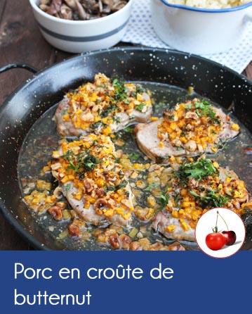 Porc en croûte de butternut