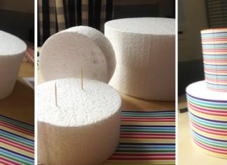 Un présentoir à cake pop | DIY