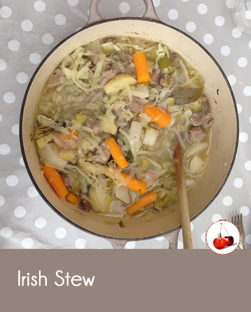 Irish Stew - Ragoût d'agneau irlandais