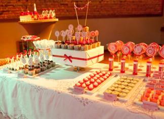 Love #2 | Une décoration de buffet de dessert pour une demande en mariage