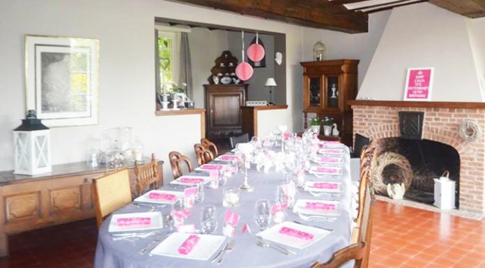 Décoration de table | Keep Calm pour les 18 ans de Victorine