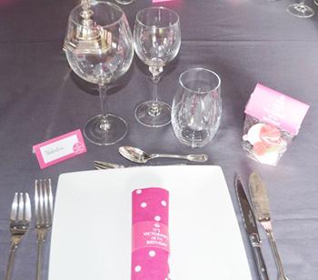 Décoration de table personnalisable Keep Calm
