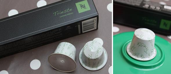 Favori Trieste et Napoli, 2 nouvelles capsules Nespresso aux couleurs de  ZD01