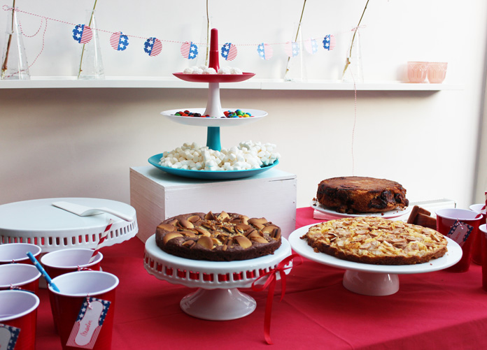 Décoration de buffet | USA Brunch