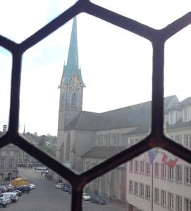 Visiter la cathédrale Grossmünster