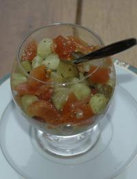 tartare de légumes