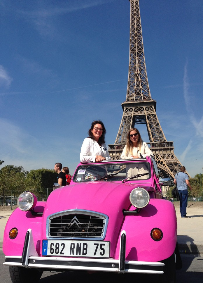 Tour De Faure France  city photo : France | Faire le tour de Paris en 2CV