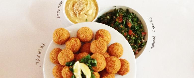 The World Food balls Brunch - falafel