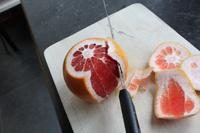 Comment peler un agrume à vif?