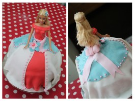 Mon premier Barbie Cake !