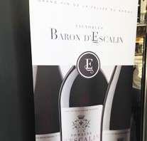 Baron d'Escalin vin de la vallée du Rhône