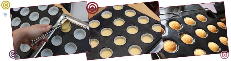 cupcake cuisson