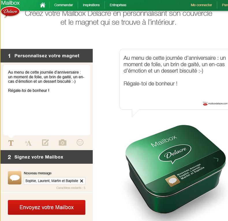 Delacre Mail Box