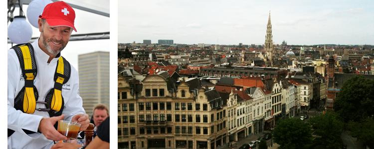 Dinner in the sky Bruxelles 2013