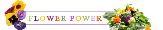 Flower Power - Les fleurs passent à table